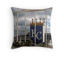 Kansas City Fever Throw Pillow