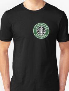 Starbucks Consumer Whore - great sticker T-Shirt