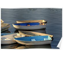 Dinghy Boats Poster