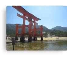 Miyajima Gate Canvas Print