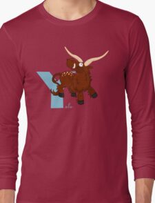 y for yale Long Sleeve T-Shirt