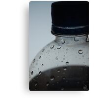 Monochrome Refreshment Canvas Print