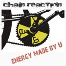 Chain Reaction - Energy made by U by bikepath