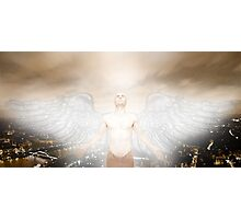 Urban Angel Photographic Print