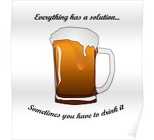 BEER SOLUTION Poster