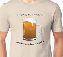 BEER SOLUTION Unisex T-Shirt