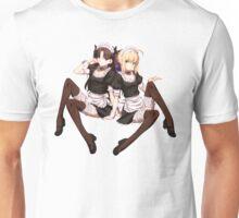 Saber x Rin Maids Unisex T-Shirt