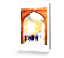 The Castle Excursion Greeting Card