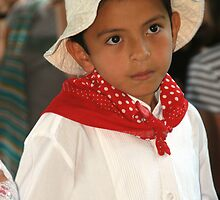 Costa rica Dancing Boy by Ken Scarboro