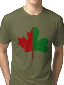 Irish Canadian/Canadian Irish Tri-blend T-Shirt