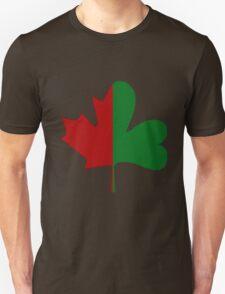 Irish Canadian/Canadian Irish Unisex T-Shirt