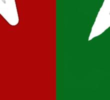 Irish Canadian/Canadian Irish Sticker