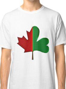 Irish Canadian/Canadian Irish 3-D Classic T-Shirt