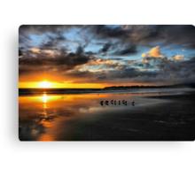 Sunset at Stinson Canvas Print