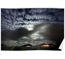 Shoal Bay By Moonlight Poster