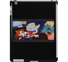 the adventures of sonic the hedgehog  iPad Case/Skin