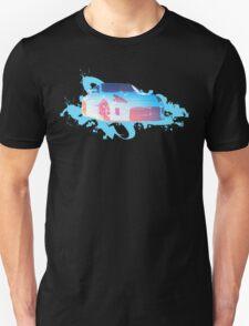 Blue Burst 370z  Unisex T-Shirt