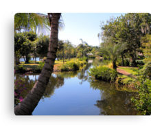 Naples Zoo Scenic Canvas Print