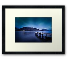 Somewhere in Queenstown Framed Print