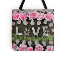 LOVE in ROSE QUARTZ Tote Bag