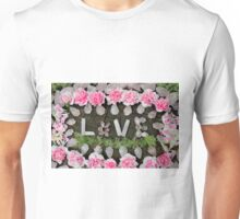 LOVE in ROSE QUARTZ Unisex T-Shirt