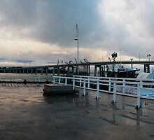 San remo Jetty panoramic by madcorey
