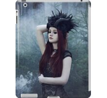 Beautiful gothic girl dark fantasy iPad Case/Skin