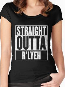 Straight Outta Rlyeh Women's Fitted Scoop T-Shirt