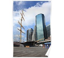 South Street Seaport - New York City Poster