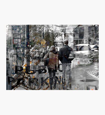 Public Parking... Seattle Rain Series Photographic Print