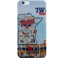 Twins Baseball iPhone Case/Skin
