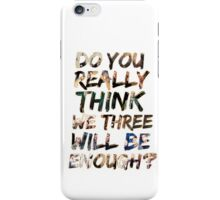 Team Free Will quote iPhone Case/Skin