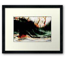 rhine misty rough river #9 Framed Print