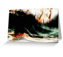 rhine misty rough river #9 Greeting Card