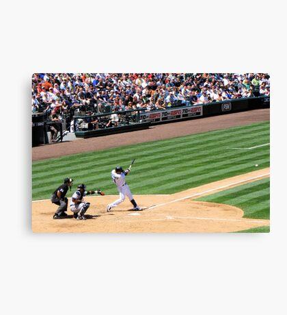 Mariners Verse the Yankees  Canvas Print