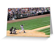 Mariners Verse the Yankees  Greeting Card