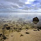 Calm Rarotongan Waters by Jason Asher