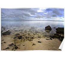 Calm Rarotongan Waters Poster