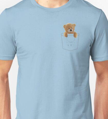 Teddy in Pocket Unisex T-Shirt