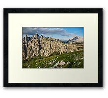 Mountain ridge Framed Print