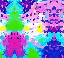 Abstract Colorful Liguid by MyArt23