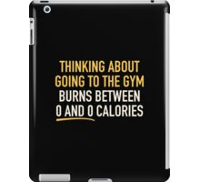 Thinking About Going To The Gym iPad Case/Skin