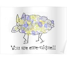 You are ewe-nique !!! Poster