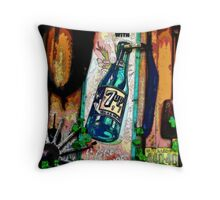 """""""Fresh Up With 7Up"""" Throw Pillow"""