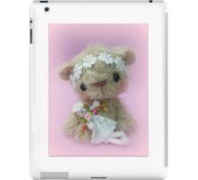 Little Gracie - Handmade bears from Teddy Bear Orphans iPad Case/Skin