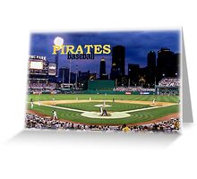 Pirates Ballclub Greeting Card