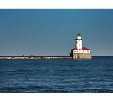 The Chicago Harbor Lighthouse  Photographic Print