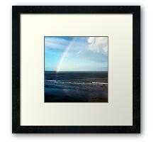The Rainbow 2 'b' Framed Print
