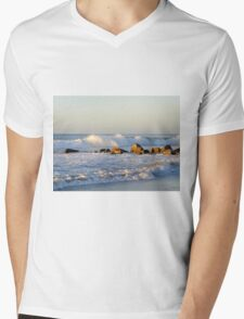Shoreline Break Mens V-Neck T-Shirt