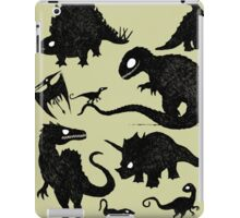 Silhouetted Dinosaurs iPad Case/Skin